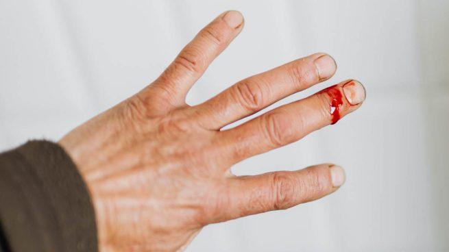 Desinfección herida