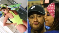 El posado de Anitta y una foto con Neymar.
