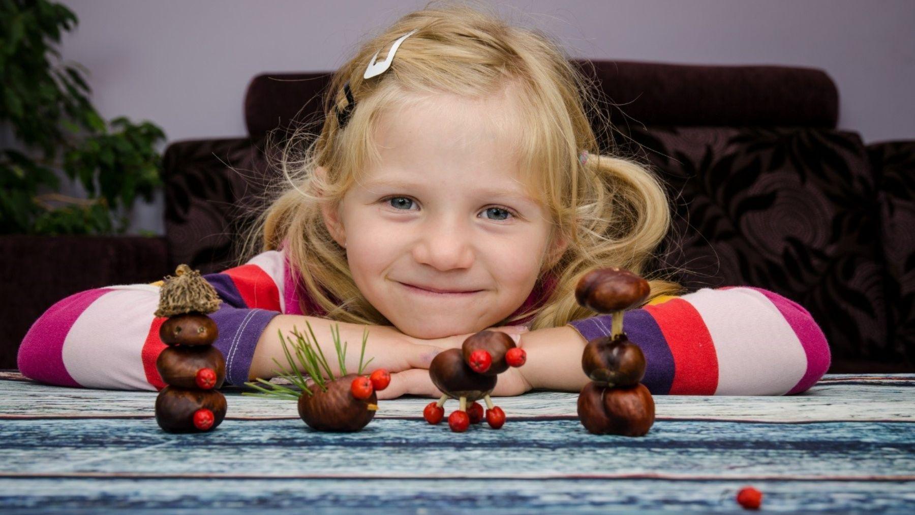 Descubre cómo hacer algunas de las mejores manualidades con castañas para los niños