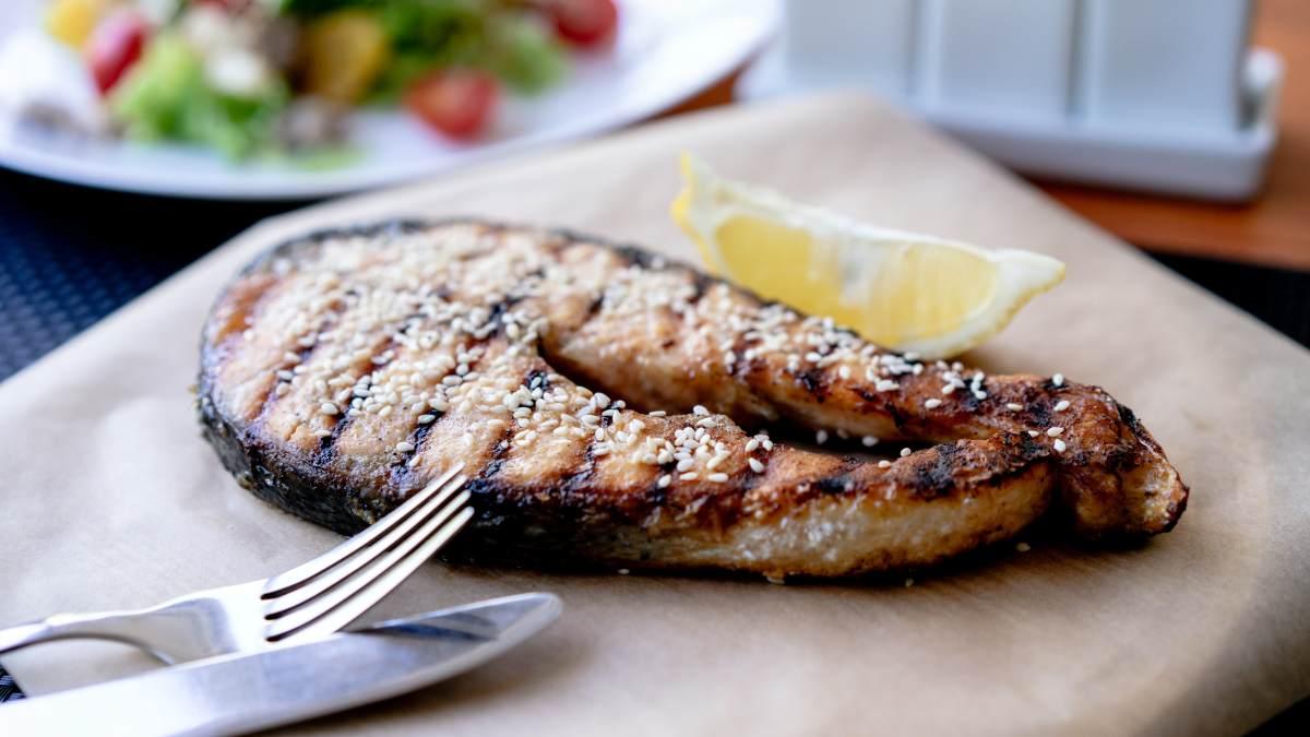 Receta de Bacalao en salsa de sésamo