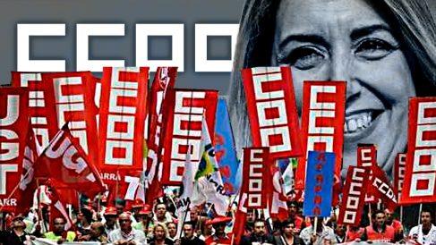CCOO, el brazo sindical del PSOE: protesta ahora lo que calló con la Junta socialista de Susana Díaz.