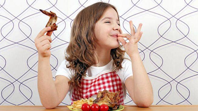comidas niños