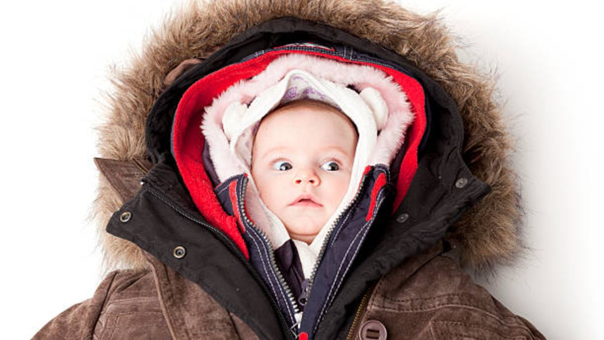 Consejos para vestir a un recién nacido en invierno