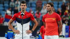 Djokovic y Nadal, en la ATP Cup. (Getty)