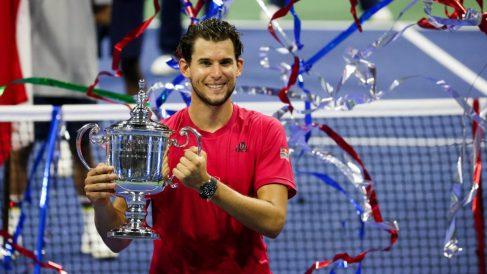 Dominic Thiem, campeón del US Open. (Getty)