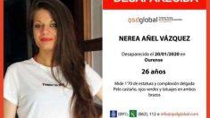 Nerea Añel desapareció en enero de 2020