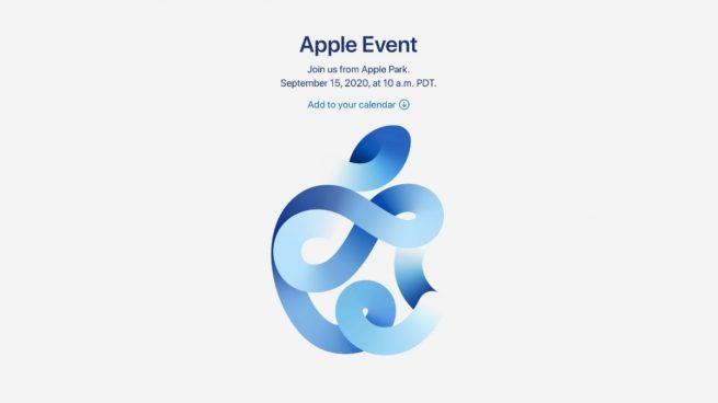 presentación de Apple Event 2020