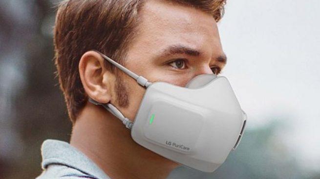 Así es la mascarilla que filtra el aire: funciona como los aparatos de aire acondicionado