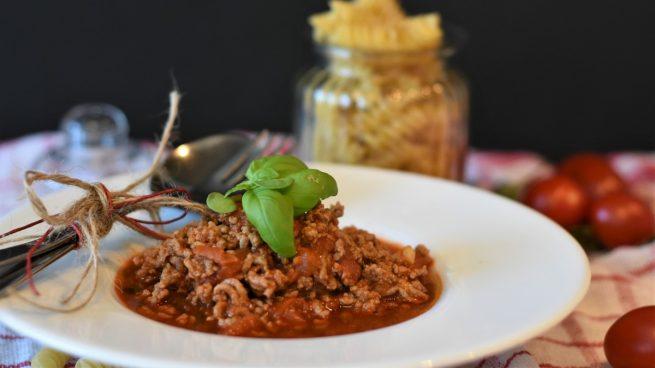 Receta de boloñesa vegana sin soja ni lentejas