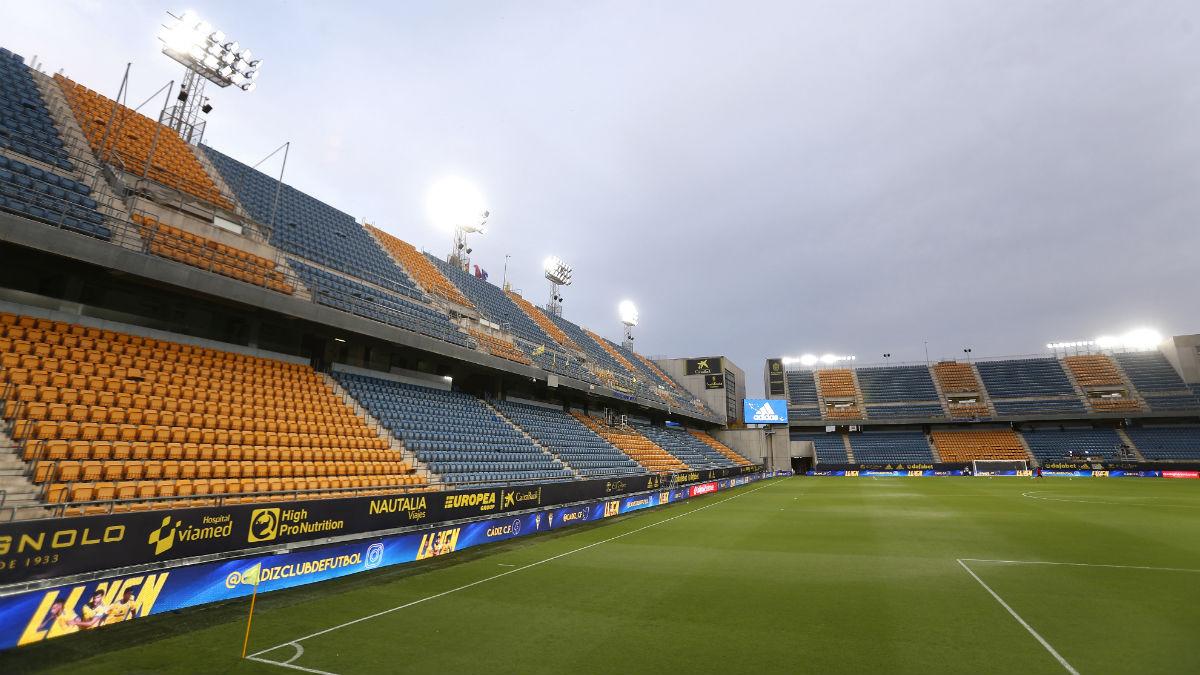 Estadio Ramón de Carranza. (Getty)