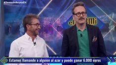 Joaquín Reyes visitó 'El Hormiguero'