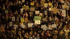 Manifestación contra el cambio climático. Foto: EP