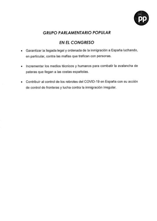 El PP exige al Gobierno PCR y equipos anti-Covid para Policía y Guardia Civil