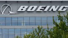 Una fotografía de una sede de la empresa aeronáutica Boeing. Foto: AFP