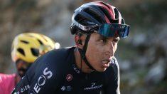 Egan Bernal durante el Tour de Francia. (AFP)