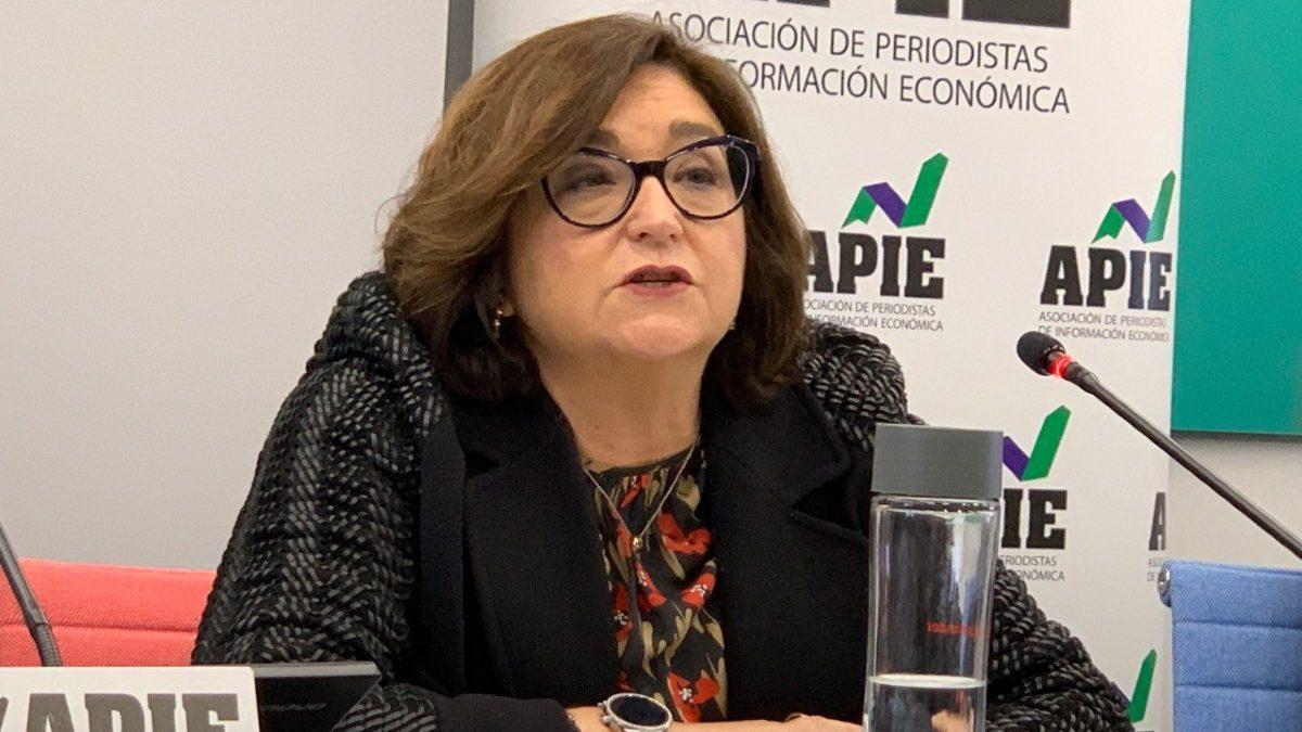 Marina Serrano, presidenta de la patronal