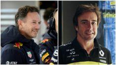 Chris Horner y Fernando Alonso