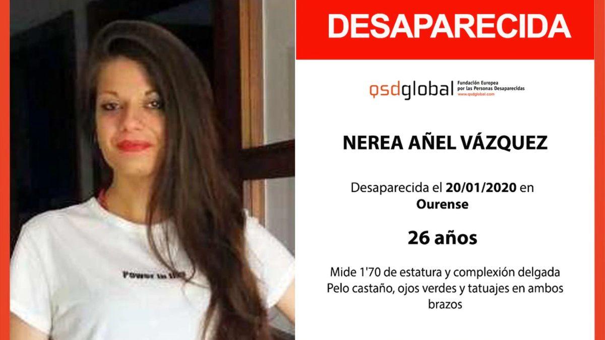 Nerea Añel fue encontrada muerta en Orense