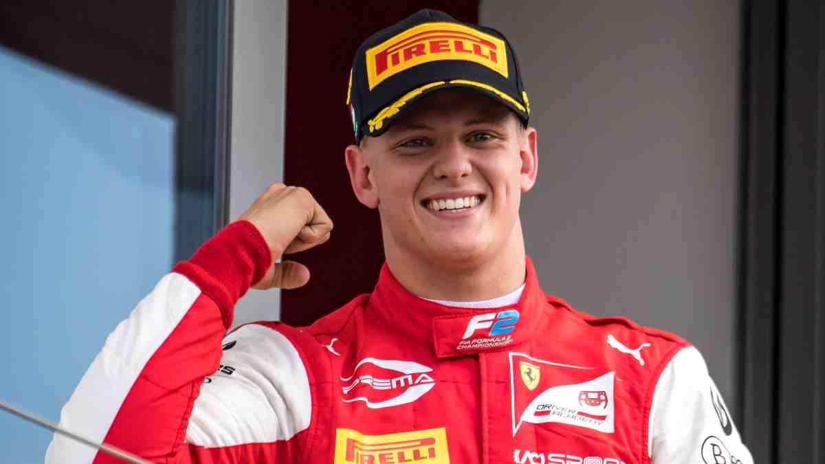 Mick Schumacher, tras una carrera. (AFP)