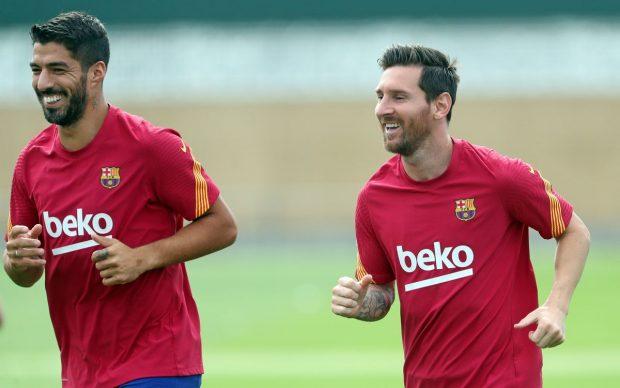 Messi Luis Suárez