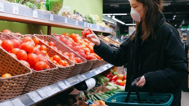 Coronavirus en supermercado