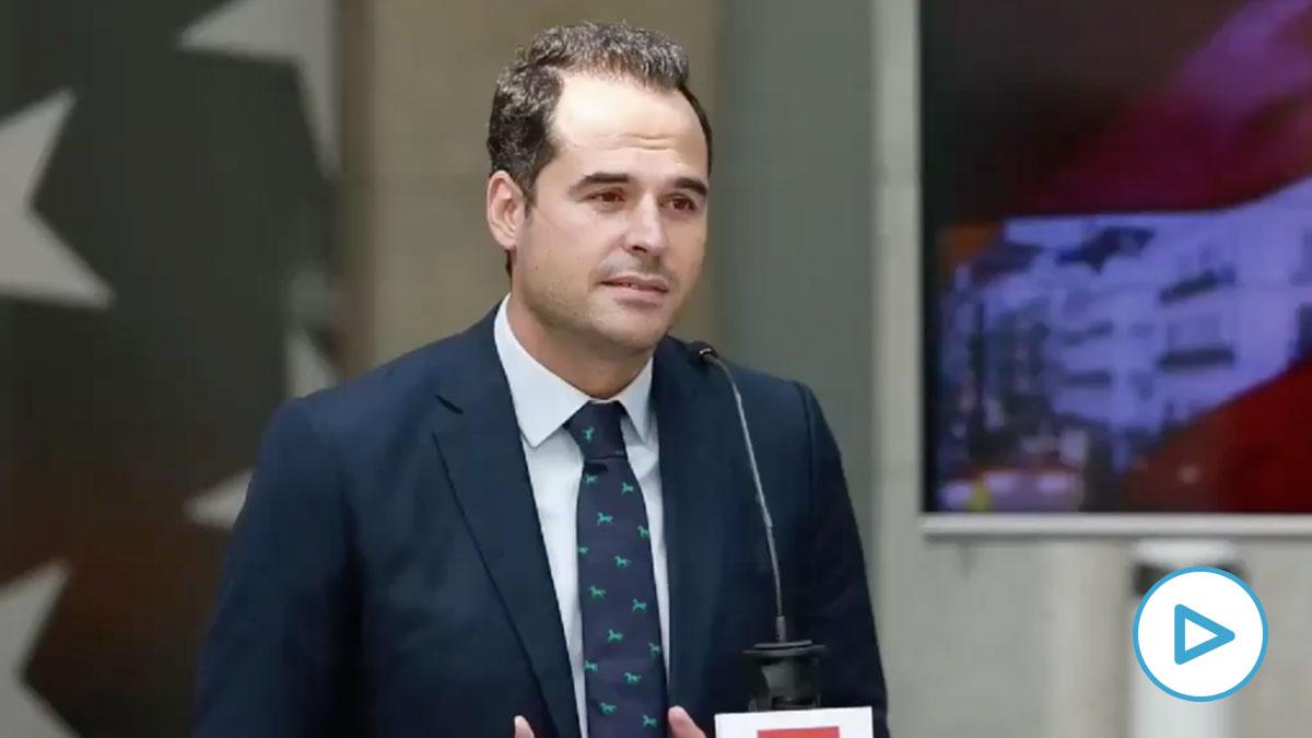 Ignacio Aguado dice que es «urgente y necesario» que el Gobierno se implique en el combate al virus en Madrid.