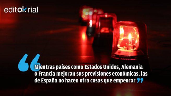 El socialcomunismo convierte a España en el farolillo rojo de la recuperación