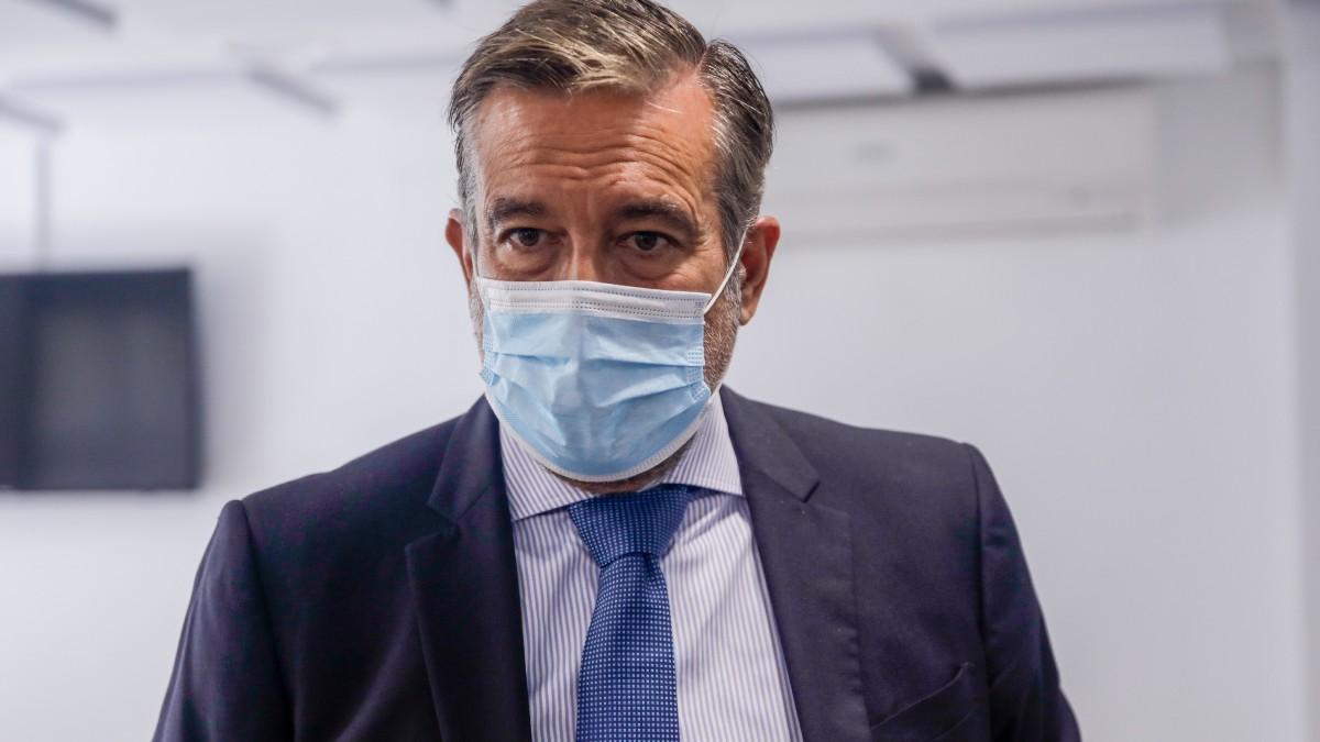 El consejero de Justicia, Interior y Víctimas de la Comunidad de Madrid, Enrique López. Foto: EP