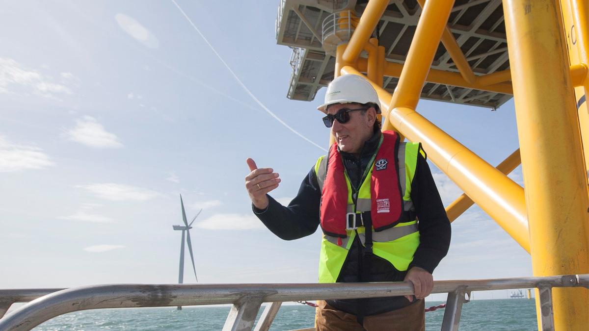 Iberdrola entra en Irlanda y refuerza su apuesta por la eólica marina con una cartera de 3 GW