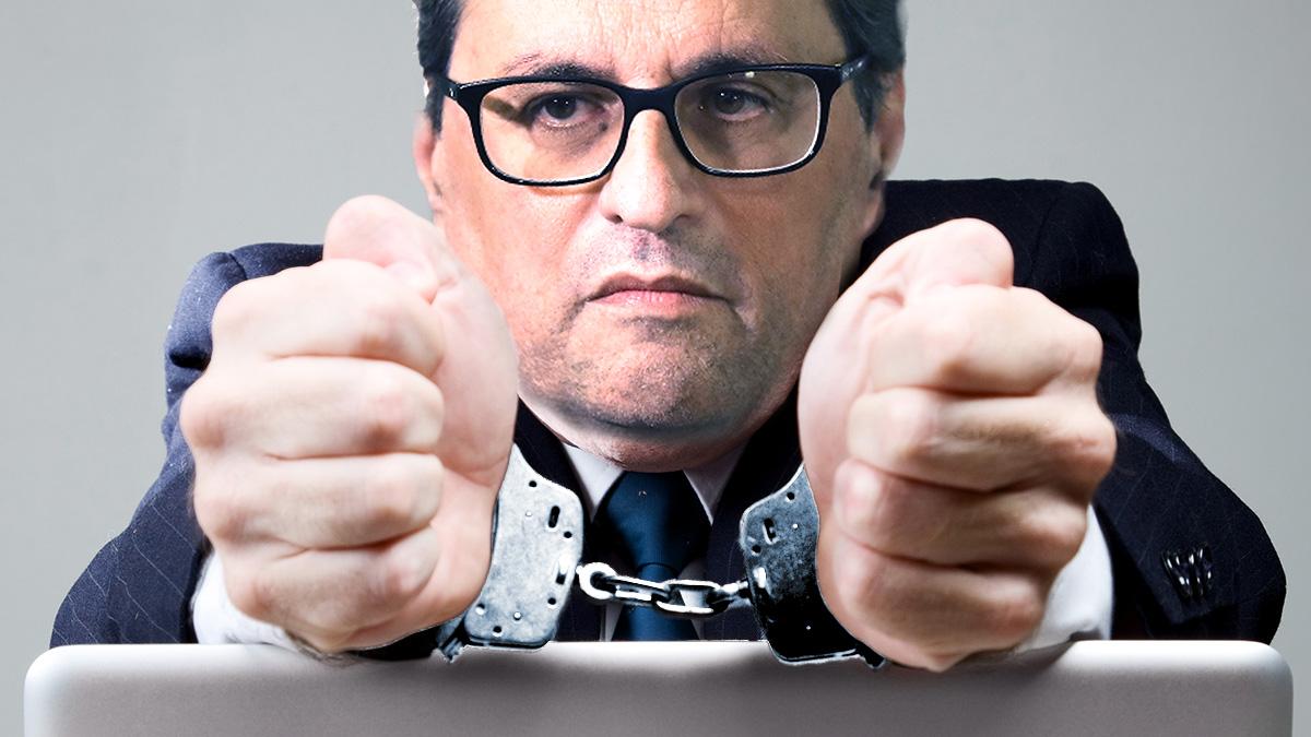 Quim Torra ex presidente de la Generalitat.
