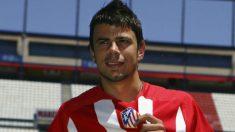 Kezman, cuando fichó por el Atlético de Madrid.