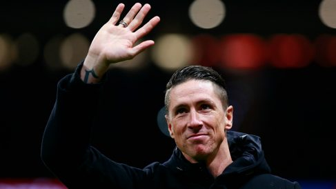 Fernando Torres, en el Wanda (Getty).