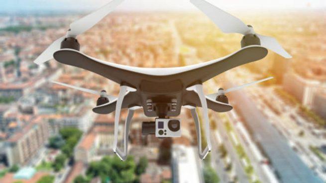 dron para rastrear covid-19