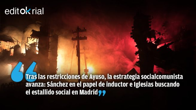 Sánchez prende la mecha e Iglesias incendia las calles
