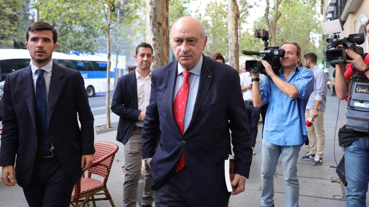El ex ministro de Interior y miembro del PP, Jorge Fernández Díaz. Foto: EP