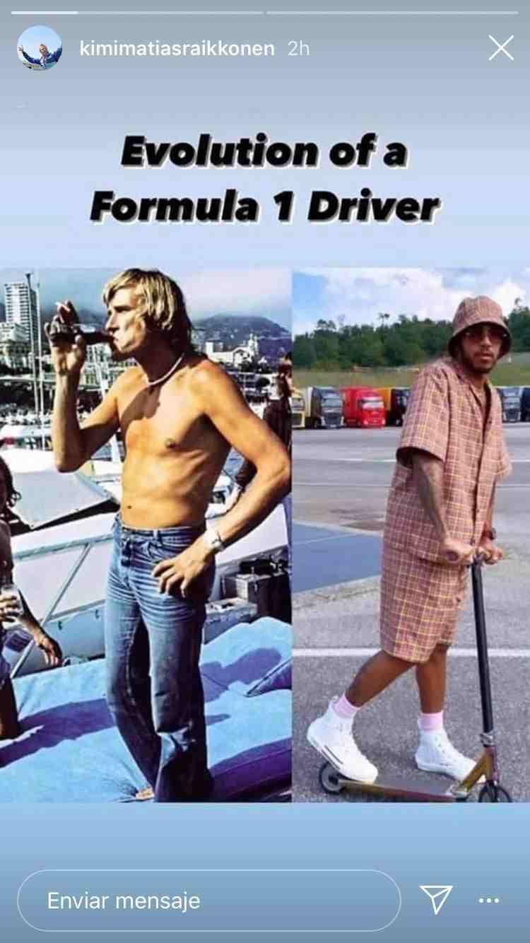 James Hunt y Lewis Hamilton