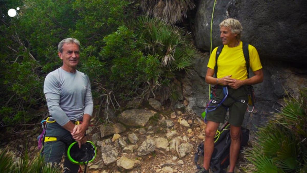 Jesús Calleja y Fernando Simón