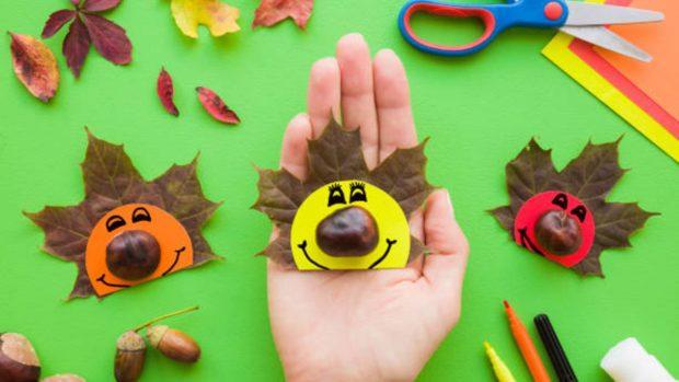 Manualidades de otoño para hacer con los niños