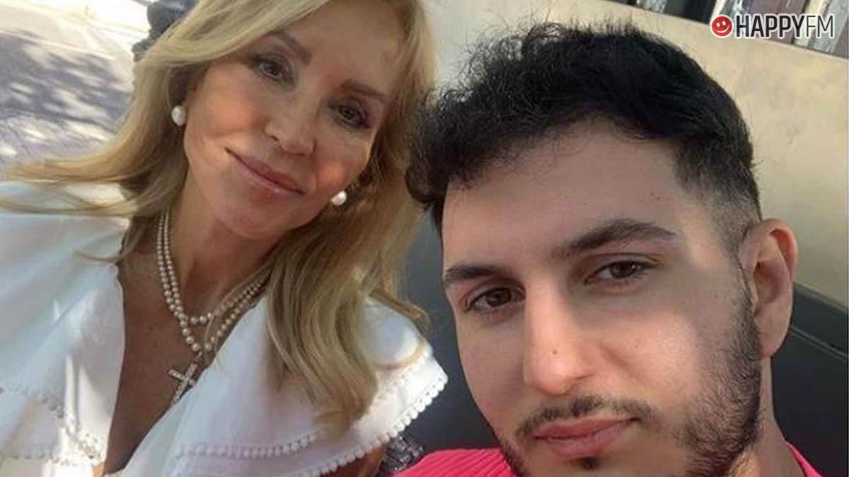 Omar Montes y Carmen Lomana