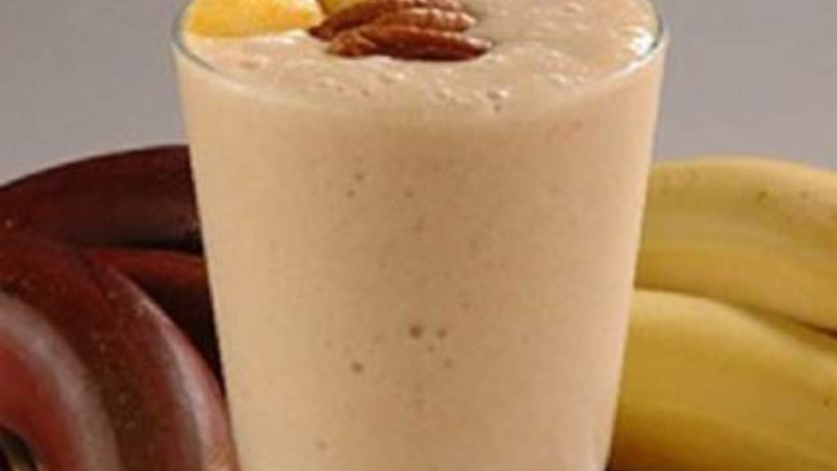 Receta de Infusión de plátano y semillas de sésamo