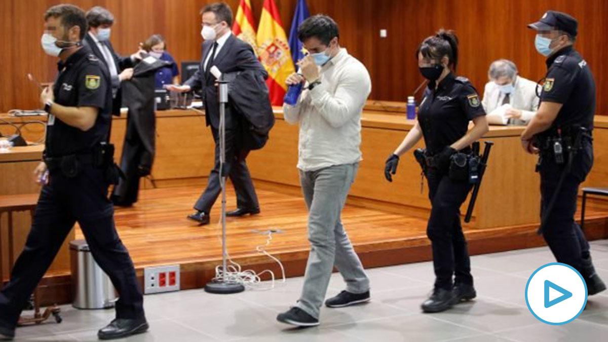 Rodrigo Lanza, asesino de Víctor Laínez