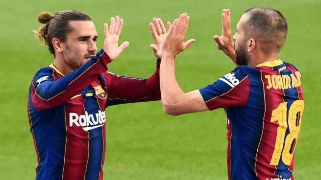 Griezmann y Jordi Alba