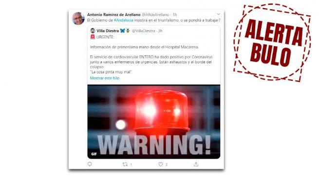La Junta de Andalucía, obligada a desmentir el enésimo bulo del PSOE: