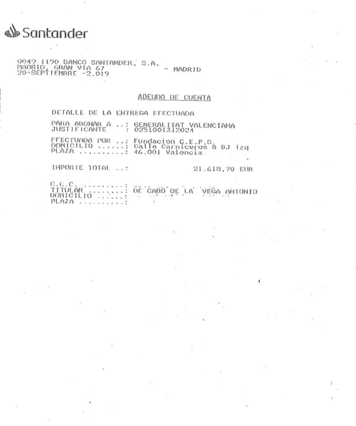 Uno de los compinches de Iglesias pagó 21.618 € de deudas de CEPS tras recibir dinero de narcodictaduras