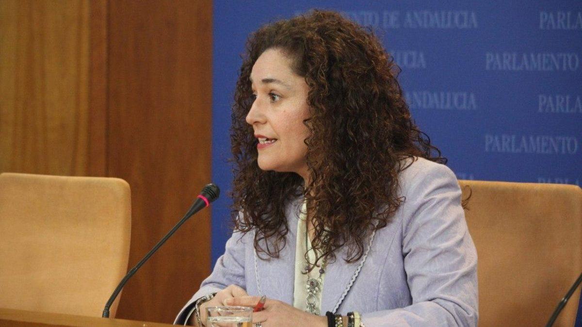 Inmaculada Nieto, portavoz parlamentaria de Adelante Andalucía.