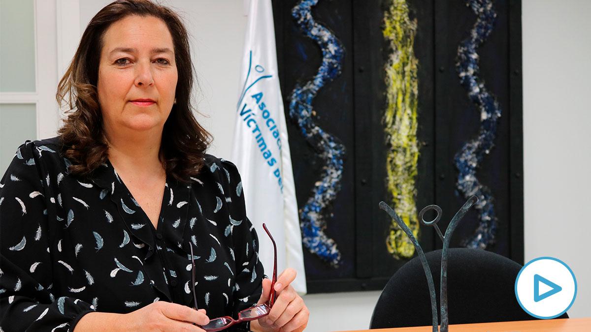 La presidenta de la AVT, Maite Araluce. (Foto: Europa Press/AVT)
