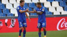 El Getafe venció a Osasuna (1-0) gracias a un gol de Mata. (EFE)
