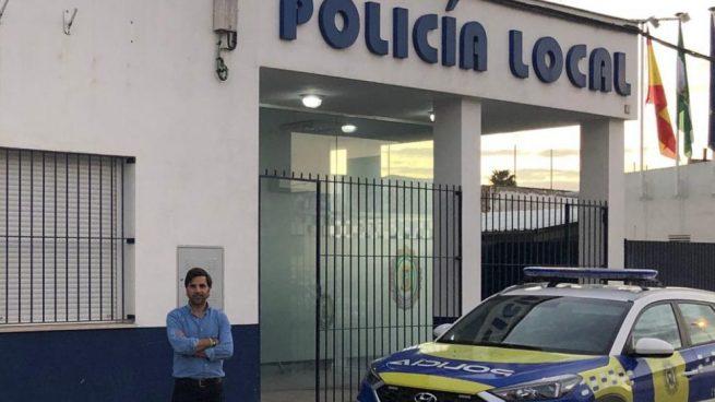El coordinador de Vox en Marchena, José Carlos Delgado.