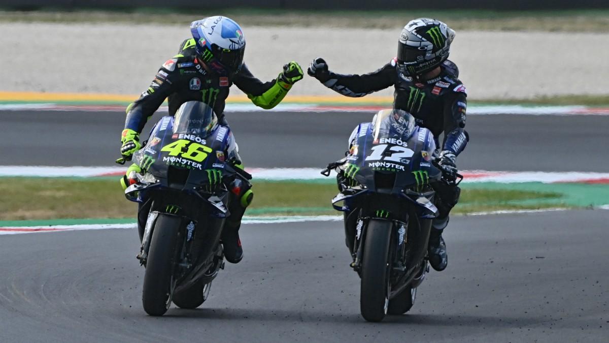 Así queda la clasificación para la parrilla del Gran Premio de Emilia-Romaña de MotoGP. (AFP)