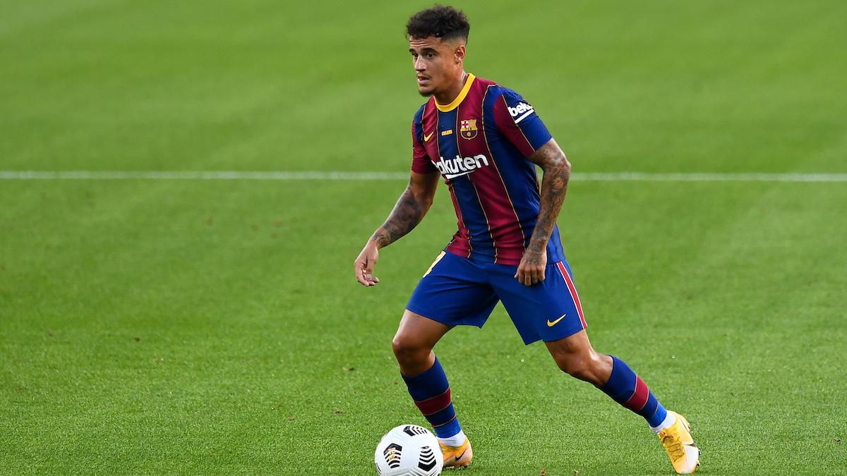 Philippe Coutinho será la gran novedad del primer once de Ronald Koeman en el Barcelona. (AFP)
